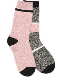 Børn Super-soft Socks - 2 Pack - Pink