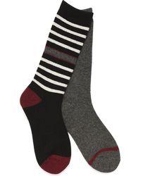 Børn Boot Socks - 2 Pack - Black