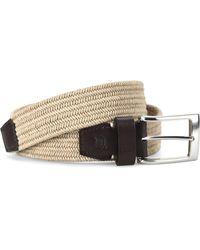 Børn Fabric Belt - Natural