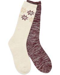 Børn Boot Socks - 2 Pack - Multicolor