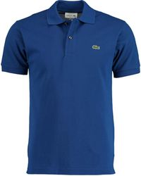 Lacoste - Polo Kobaltblauw Regular Fit - Lyst