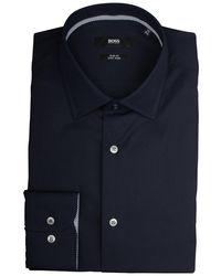 BOSS Jesse Overhemd - Blauw
