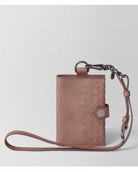 Bottega Veneta - Passport Holder In Intrecciato Vn - Lyst