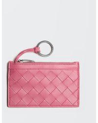 Bottega Veneta SCHLüSSELETUI - Pink