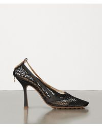 Bottega Veneta Stretch Court Shoes - Black