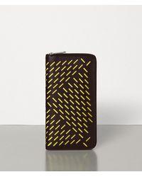 Bottega Veneta Zip-around Wallet - Multicolour