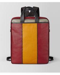 Bottega Veneta - Backpack In Micro-intrecciato Embossed - Lyst