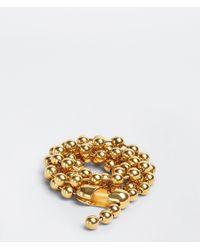 Bottega Veneta Round Metal Chain Belt - Metallizzato