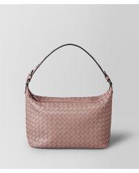 1385b0bafb6d Lyst - Bottega Veneta Ciambrino Intrecciato Leather Shoulder Bag in ...