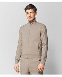 Bottega Veneta - Dark Cement Polyester Sweater - Lyst