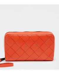Bottega Veneta Reiseetui - Orange