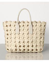 Bottega Veneta Tote Bag - Natural