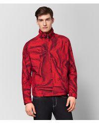 Bottega Veneta - China Red Polyester Jacket - Lyst