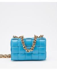 Bottega Veneta The Chain Cassette Cross-body Bag - Blue