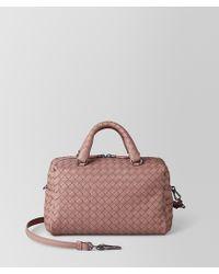 Bottega Veneta - Mini Top Handle Bag In Intrecciato Nappa - Lyst