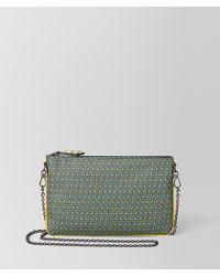 Bottega Veneta Chain Wallet In Nappa - Green
