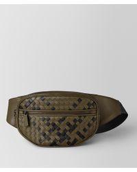 Bottega Veneta Belt Bag In Intrecciato Nappa - Multicolor