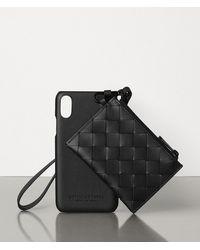 Bottega Veneta Iphone Xs Case - Black
