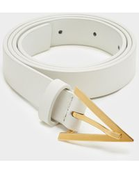 Bottega Veneta Triangle - ホワイト