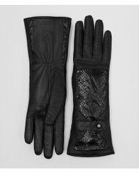 Bottega Veneta - Nero Lamb Ayers Glove - Lyst