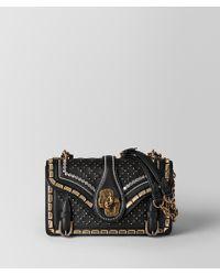 Bottega Veneta - City Knot Embellished Shoulder Bag With Catena Mirror Detail - Lyst