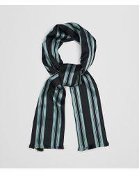 Bottega Veneta - Nero Arctic Silk Scarf - Lyst