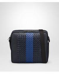 Bottega Veneta - Tourmaline Intrecciato Nappa Messenger Bag - Lyst