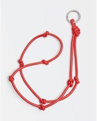 Bottega Veneta Key Ring - レッド