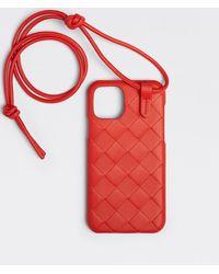Bottega Veneta Iphone 12 Pro Case - Red