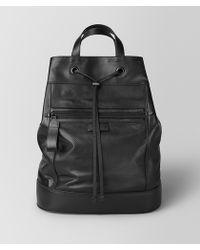 Bottega Veneta Backpack In LEGGERO - Black