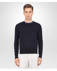 Bottega Veneta | Dark Grey Wool Cashmere Sweater | Lyst