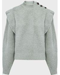 Isabel Marant Peggy Cashmere-wool Jumper - Grey