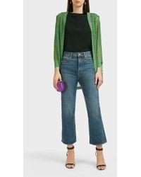 Missoni Oversized Knit Cardigan - Green