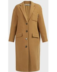 Alexander Wang Oversized Wool Trench Coat - Multicolour