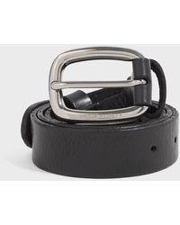 Golden Goose Deluxe Brand Houston Leather Belt - Black