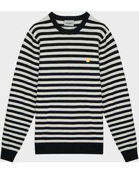 Carhartt WIP Scotty Striped Sweater - Black