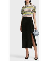 Missoni Striped T-shirt - Black