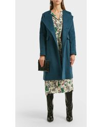 Isabel Marant Fanki Wool-blend Coat - Multicolor