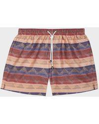 Missoni Striped Swim Shorts - Multicolour