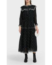 Étoile Isabel Marant - Eina Drawstring Dress - Lyst