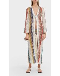 Missoni Diamond Print Robe - Multicolour