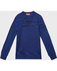 Missoni - Spacedye Wool Jumper - Lyst