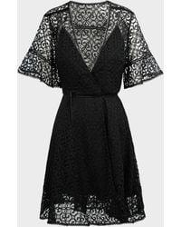 Jonathan Simkhai Isabella Lace Midi Dress - Black
