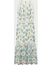 Bronx and Banco Penelope Floral Lace Dress - Multicolor