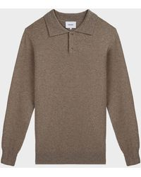 Nanushka Oliver Polo Wool-blend Sweater - Multicolor