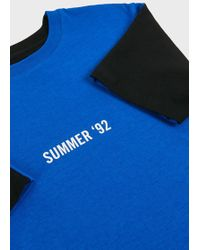 RTA - Summer Of 92 Cotton T-shirt, Size Xs, Men, Black - Lyst