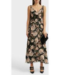 Erdem Orabella Floral-print Silk Dress - Multicolour