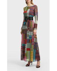 Missoni Metallic Stretch-knit Dress - Multicolor
