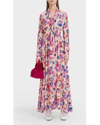 Natasha Zinko Floral Printed Maxi Dress - Multicolour