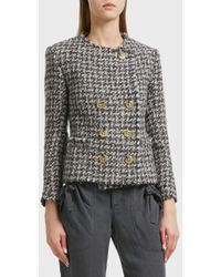 Étoile Isabel Marant - Jorson Wool-blend Tweed Jacket, Fr40 - Lyst